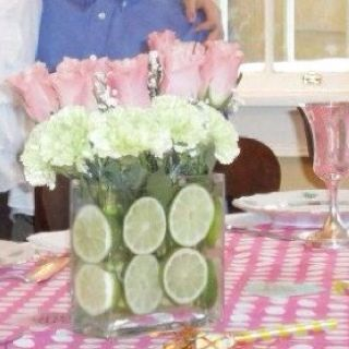 From my friend Katherine's daughter's birthday. Love the limes!