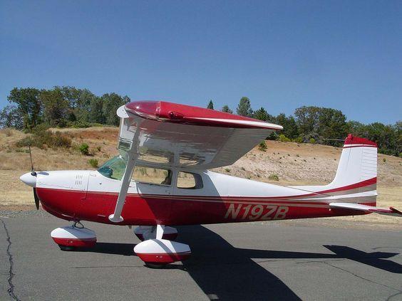 1959 Cessna 175 O 360 180hp Vintage Aircraft General Aviation Cessna