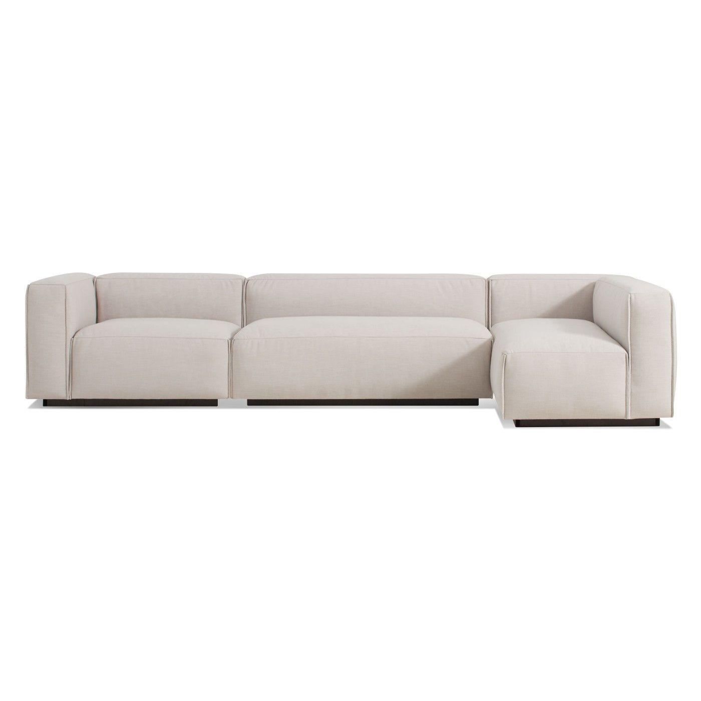 Blu Dot Cleon Medium+ Sectional Sofa   Craig Sand $3239.10 (trade Price)
