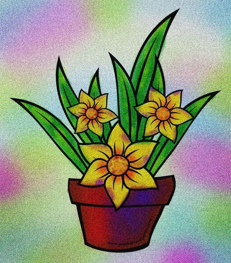 Contoh Gambar Bunga Dalam Pot Gambar Bunga Cantik Indah Di Dalam Pot 10 Tanaman Hias Bunga Dalam Pot Untuk Hal Gambar Bunga Menggambar Bunga Matahari Bunga