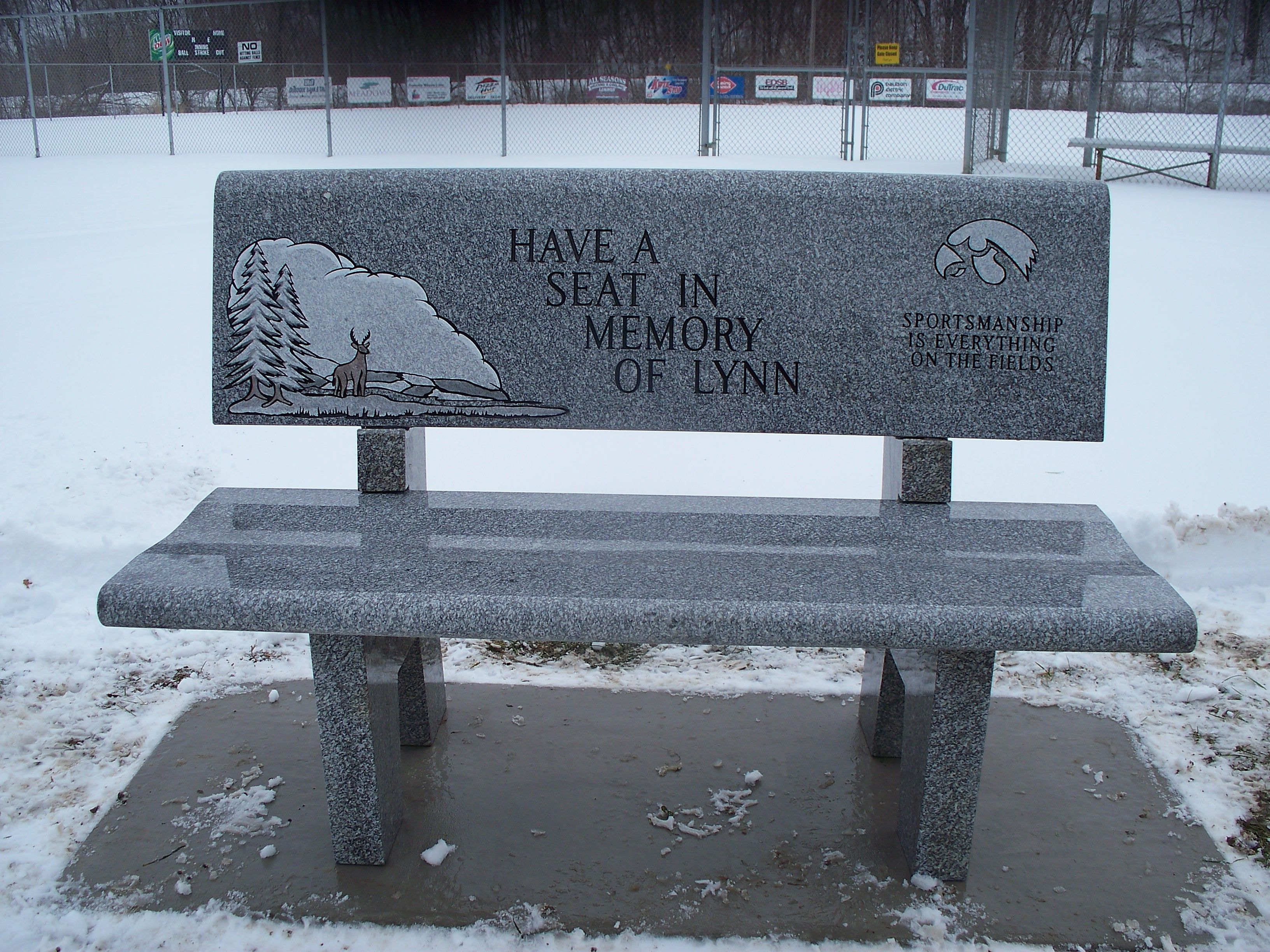 memorial benches for cemeteries
