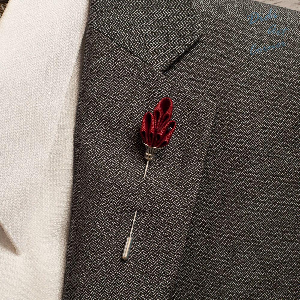 Mens jacket brooch - Lapel Pin