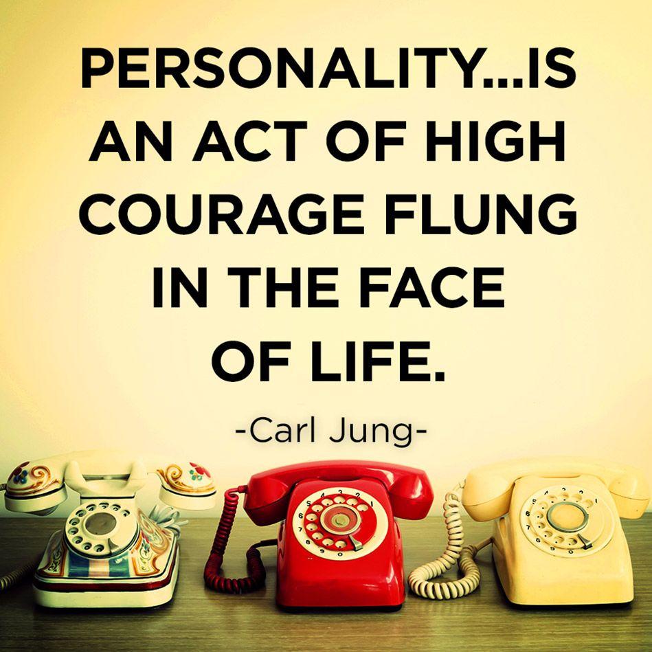 Carl Jung Quote - Personality   Frases clave, Citas y Hechos