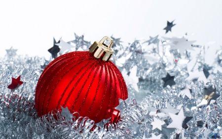 Christmas ball - christmas bells, decoration, christmas ball, balls