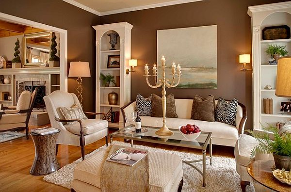 Milk Chocolate Walls? next for the living room!   Living Room ...