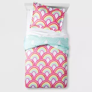 Pillowfort Rainbow Comforter Set - Pillowfort