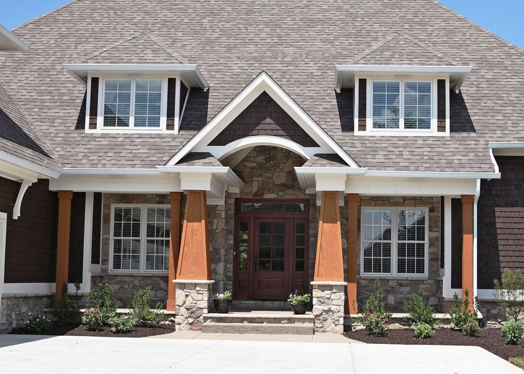 Exterior Window Trim Brick pictures of houses with stone and brick | custom home, white brick