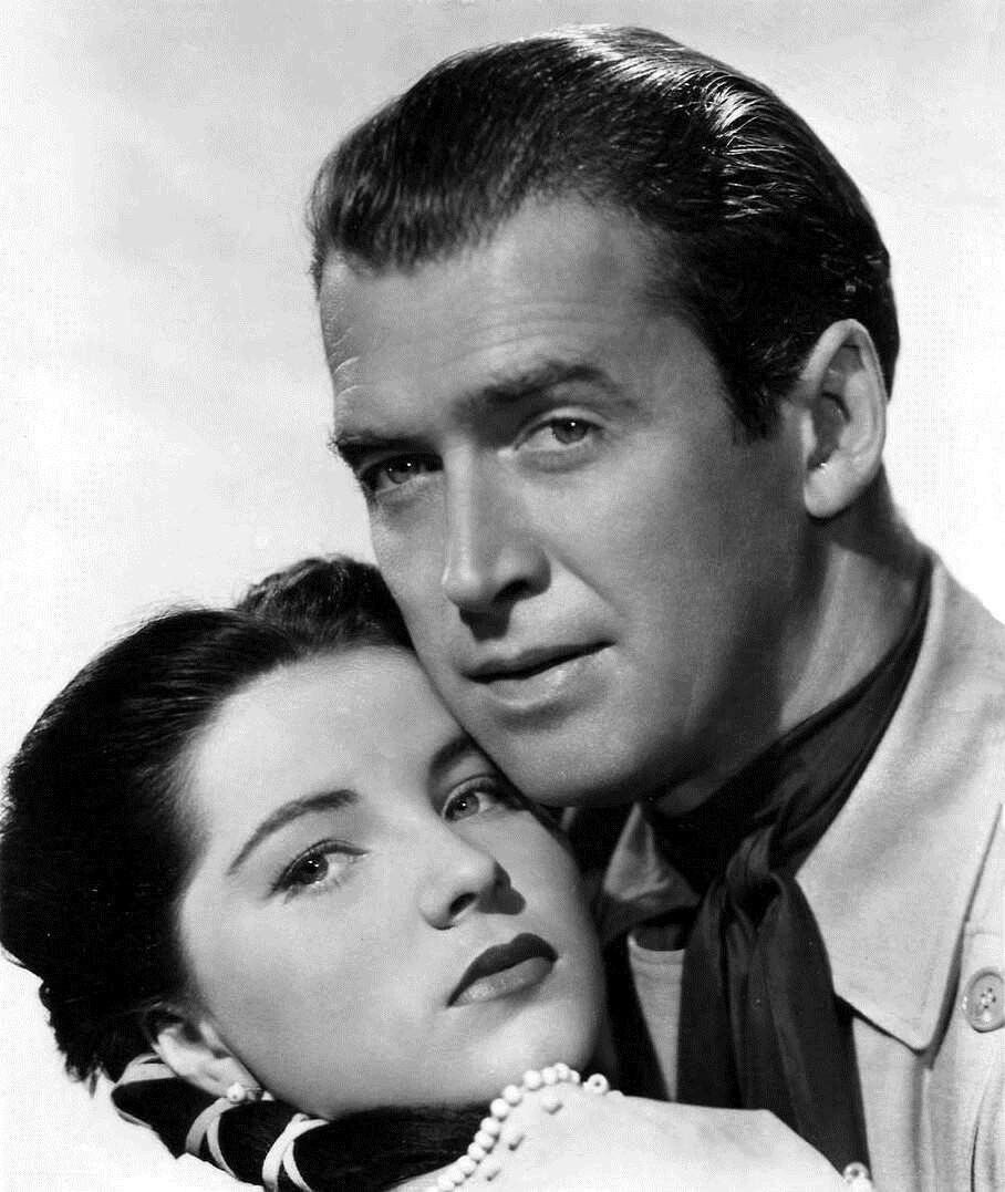 Image result for debra paget & james stewart