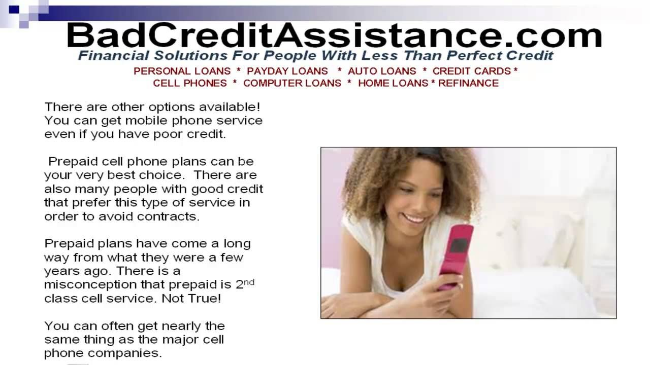 Pin by Greg Ford on Credit Assist | Prepaid cell phone plans