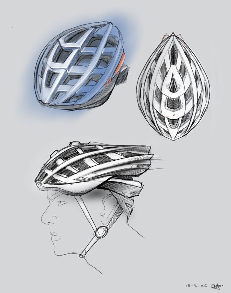 Bike Helmet Design By Pnugget