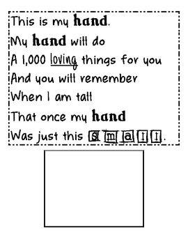 Grandparents' Day Poem/Craft