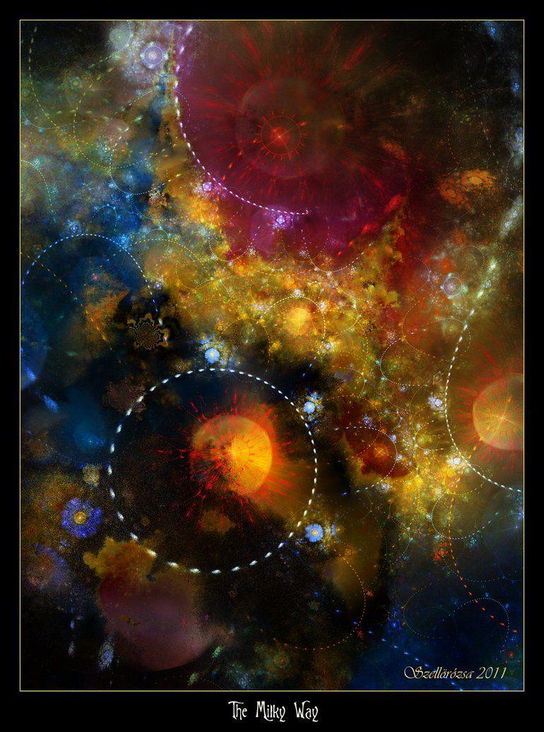 The Milky Way by *Szellorozsa