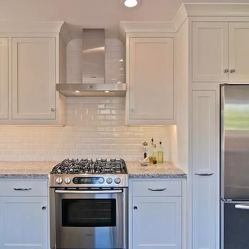 Uberlegen Subway Tile Backsplash, Transitional, Kitchen, William Adams Design
