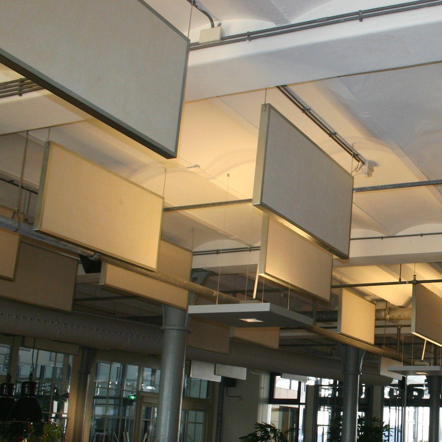 EASYbaffles: akoestische baffles voor absorptie, akoestisch plafond
