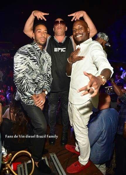 Pin Pa Vin Diesel Paul Walker Fast Furious Family