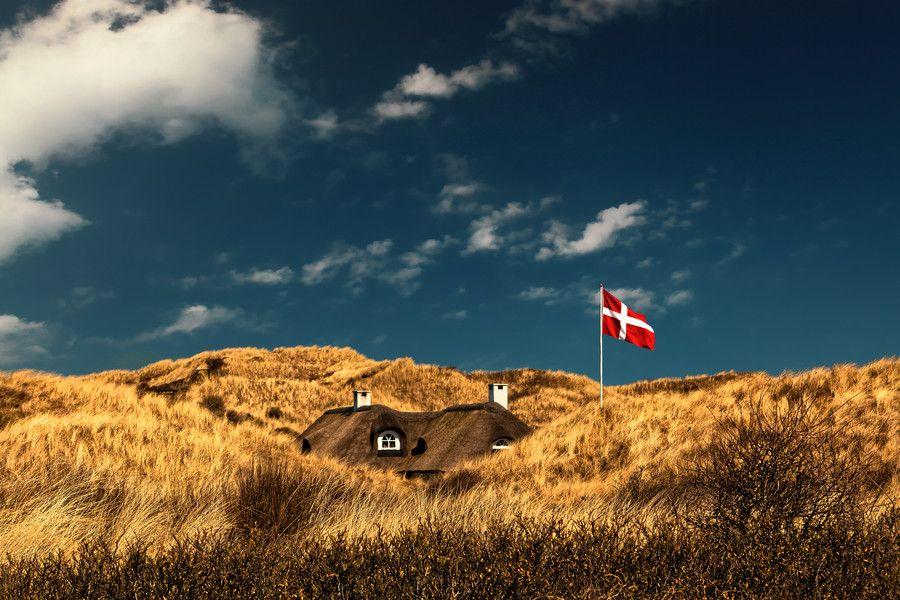 Hidden Original (Henne Strand), denmark, sky, landscape ...