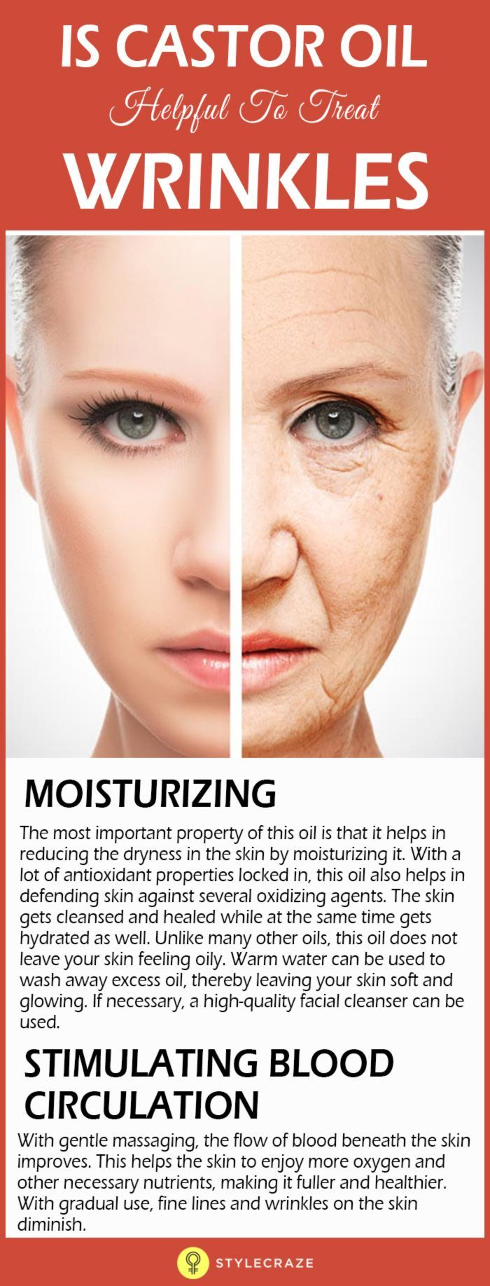 How to use castor oil to remove wrinkles healing n remedies whenever you see yourself in the mirror is it only the wrinkles that come to your attention and does that sadden and upset you solutioingenieria Images
