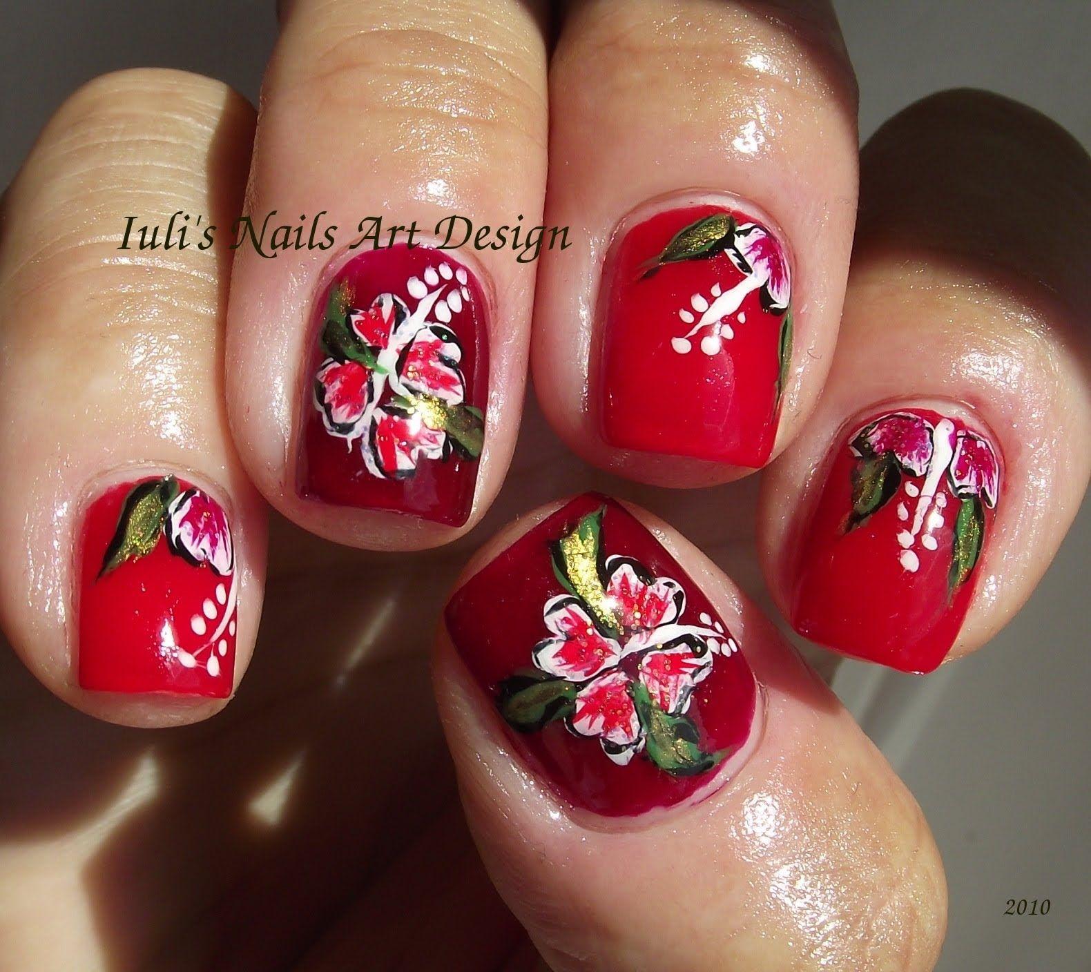 Nail Hawaiian Flowers Maxresdefault Jpg Nail Art Designs Nail Art For Beginners Nail Art