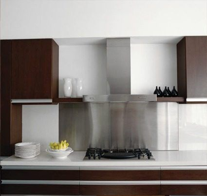 Chapa acero inoxidable para cocina casa pinterest for Cocinas de acero inoxidable para casa