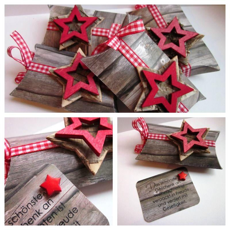 stampin up pillowbox in holzoptik christmas. Black Bedroom Furniture Sets. Home Design Ideas