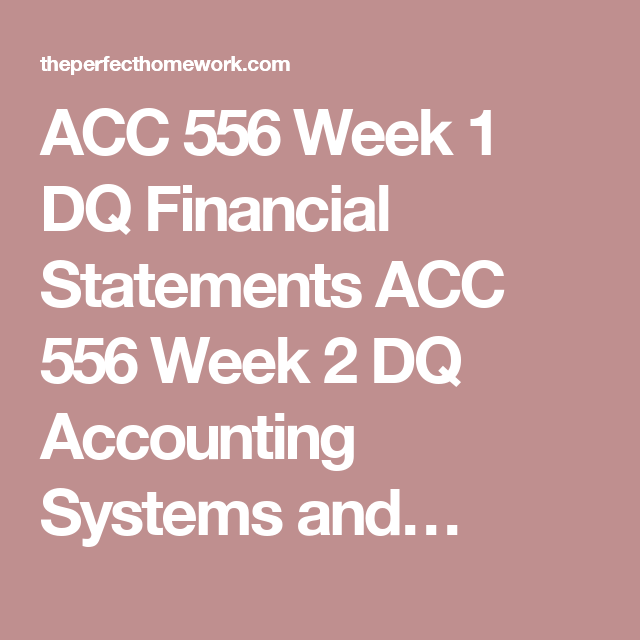 ACC 556 ACC556 Week 11 Final Exam with Answers (Strayer)