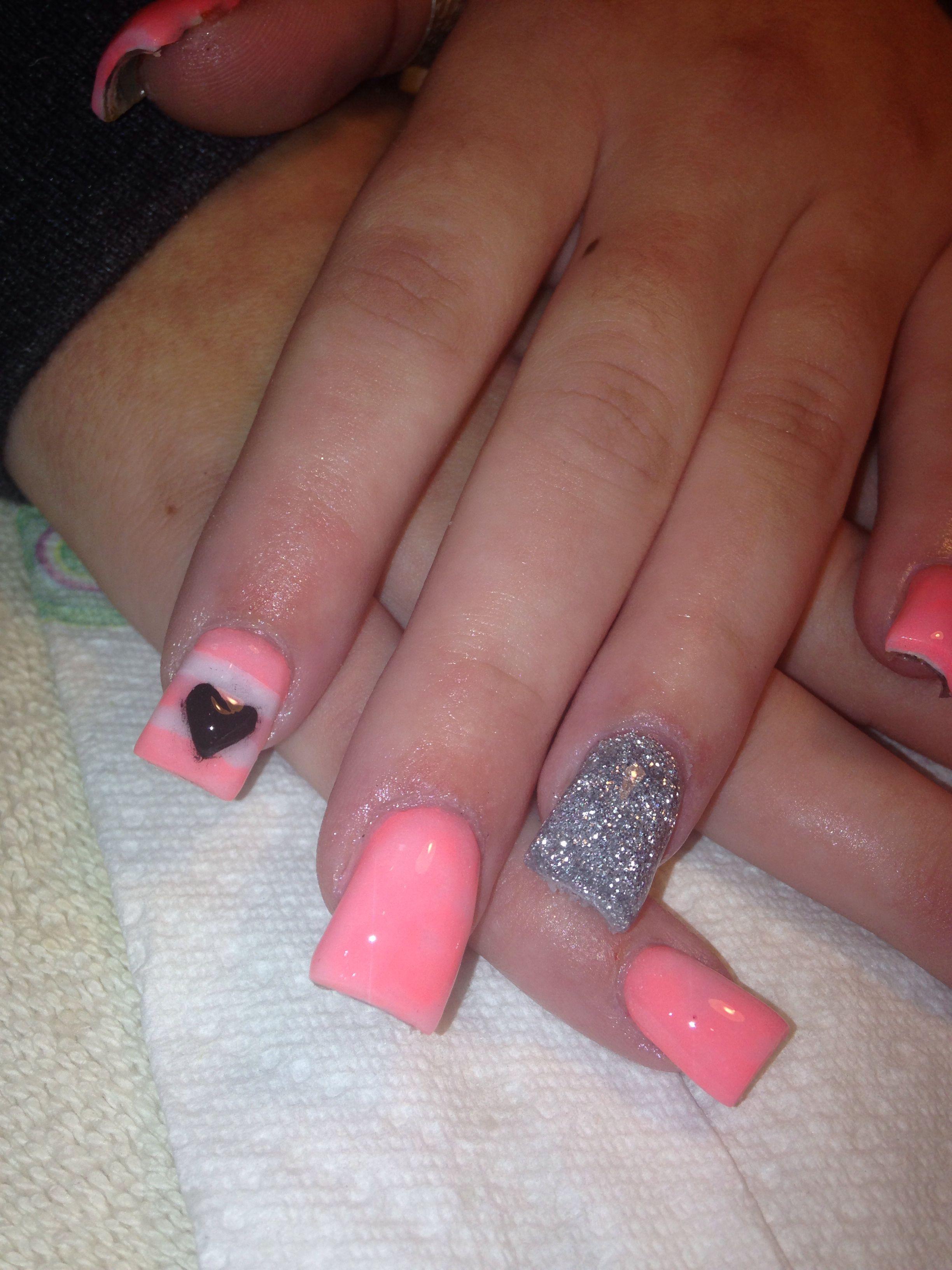 Acrylic nail design! Love!! | Acrylic nails! | Pinterest | Acrylic ...