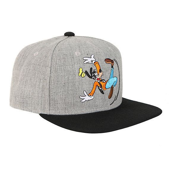 Disney Goofy Snapback Hat Hot Topic ( 15) ❤ liked on Polyvore featuring  accessories 11df929603a