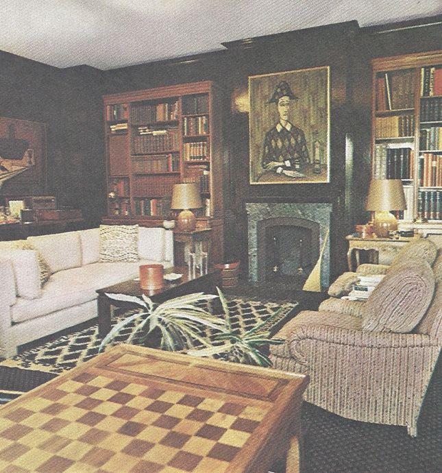 The Upholstered Leg Version Of Tuxedo Sofa Designed By