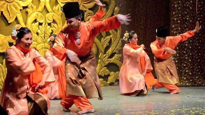 tari zapin melayu sejarah ragam gerak rias busana musik syair penari sejarah seni