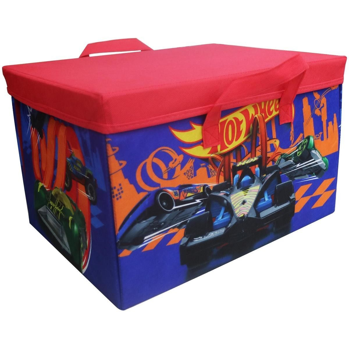 Hot Wheels Storage Box And Play Mat Big W Hot Wheels