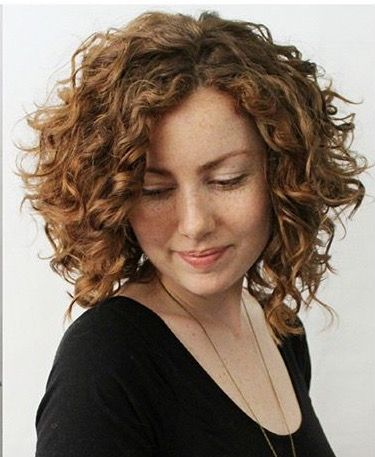 Awesome Shape For Mid Length Curly Hair Medium Curly Hair Styles Curly Hair Styles Haircuts For Curly Hair