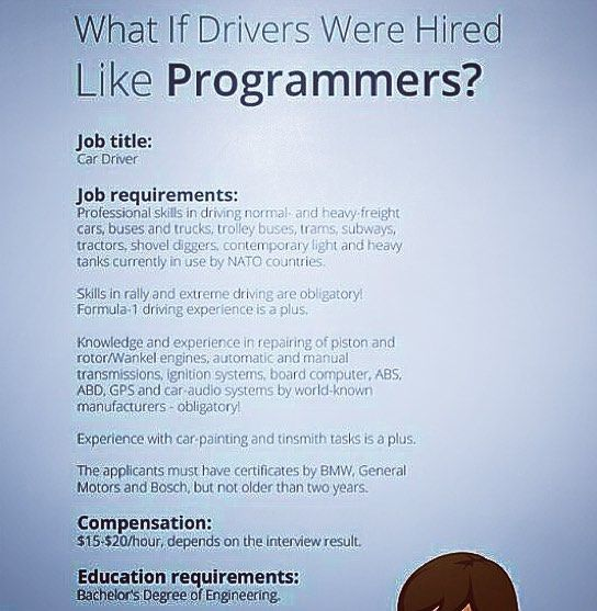 coders know how accurate this is i mean programming job - programmer job description