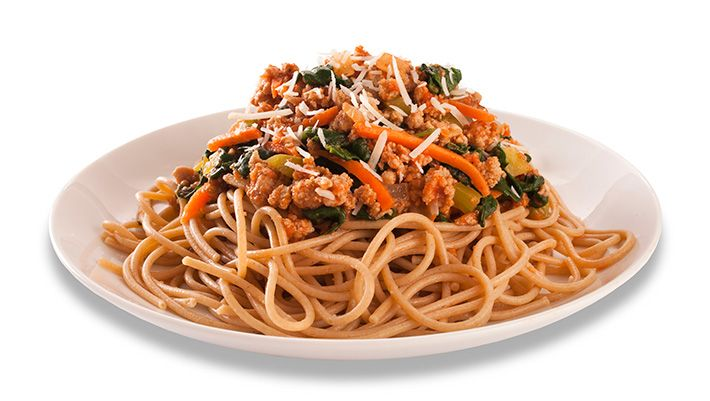 Turkey Bolognese With Whole Wheat Spaghetti Mindful By Sodexo Recipes Recipe Whole Wheat Spaghetti Turkey Bolognese Spaghetti