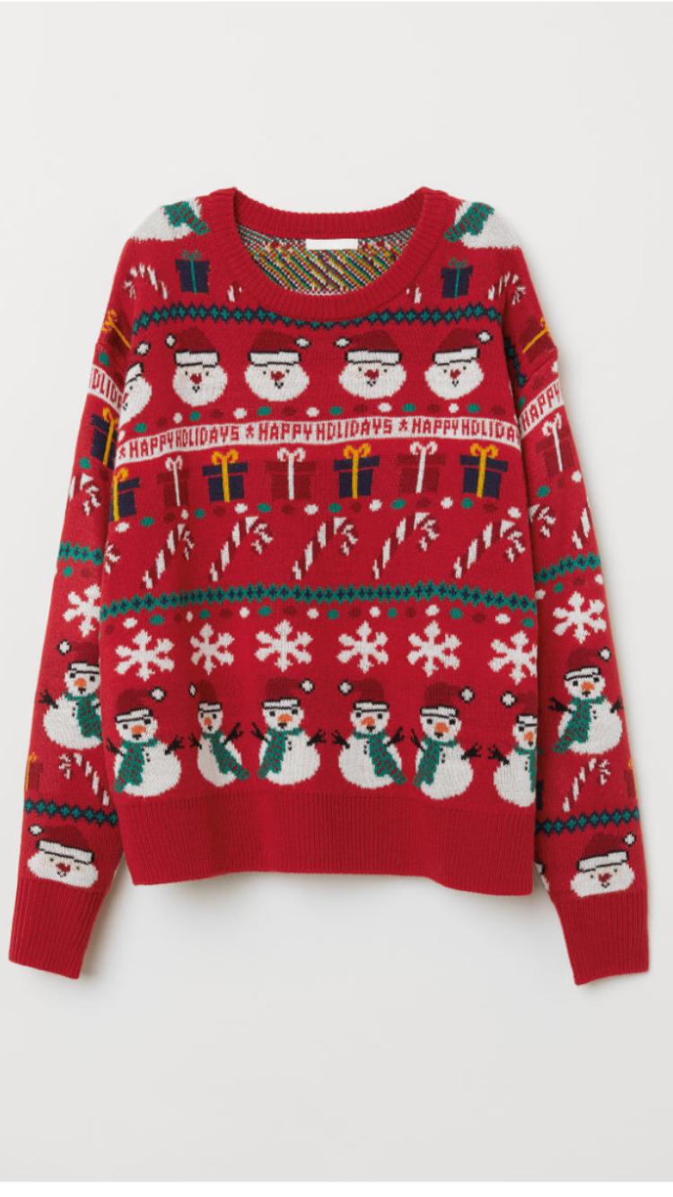 Hm Kersttrui.2018 H M 19 99 Weihnachtspullover Weihnachtspullover