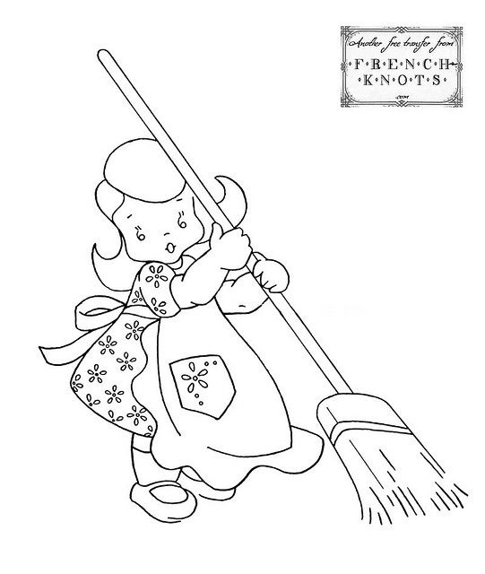 girl_sweeping by niccivale, via Flickr