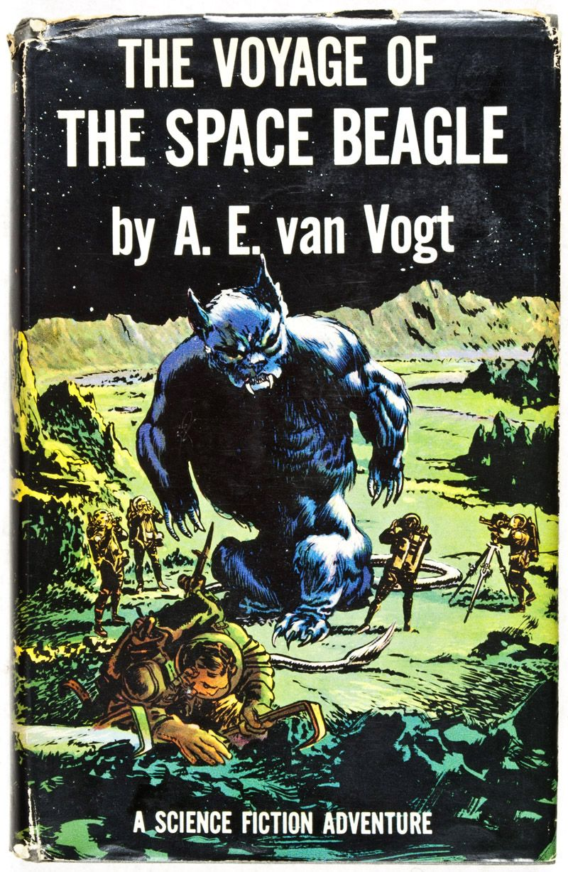 The Voyage Of The Space Beagle A E Van Vogt Science Fiction