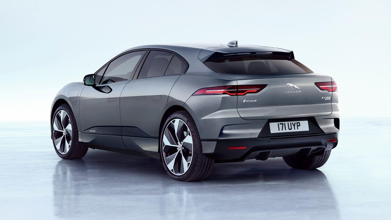The Jaguar I Pace First Edition With 22 Inch 5 Spoke Style 5069 Alloy Wheels Yaguar Avtomobili Yaguar Elektromobil
