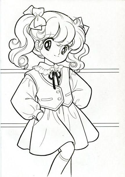 Vintage Japanese Coloring Book 7 Sailor Moon Coloring Pages Coloring Books Coloring Book Art