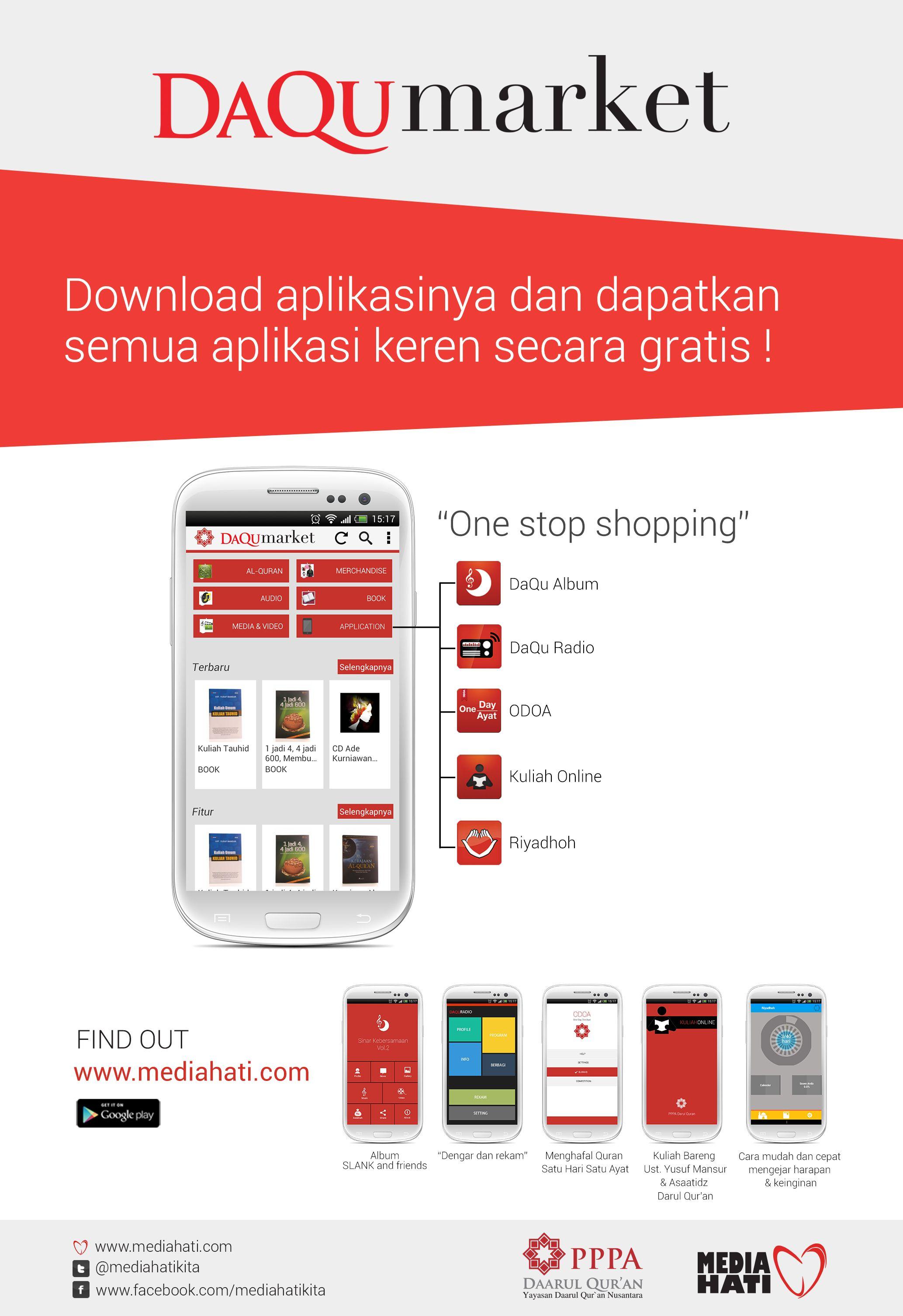Download aplikasi DaQu Market di Google Play https://play.google.com ...