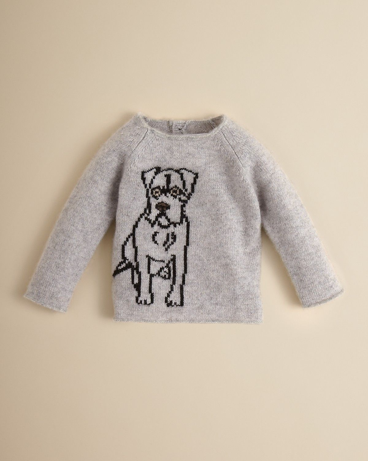 2e8491c2f0d7 Burberry Infant Girls  Dane Dog Intarsia Cashmere Sweater - Sizes 6 ...