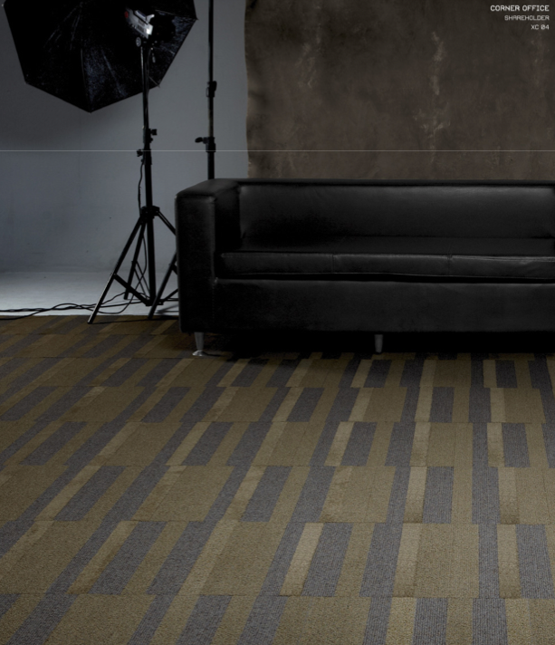 Industrial Flooring Brisbane: Corner Office Carpet Tiles From The Executive Suite