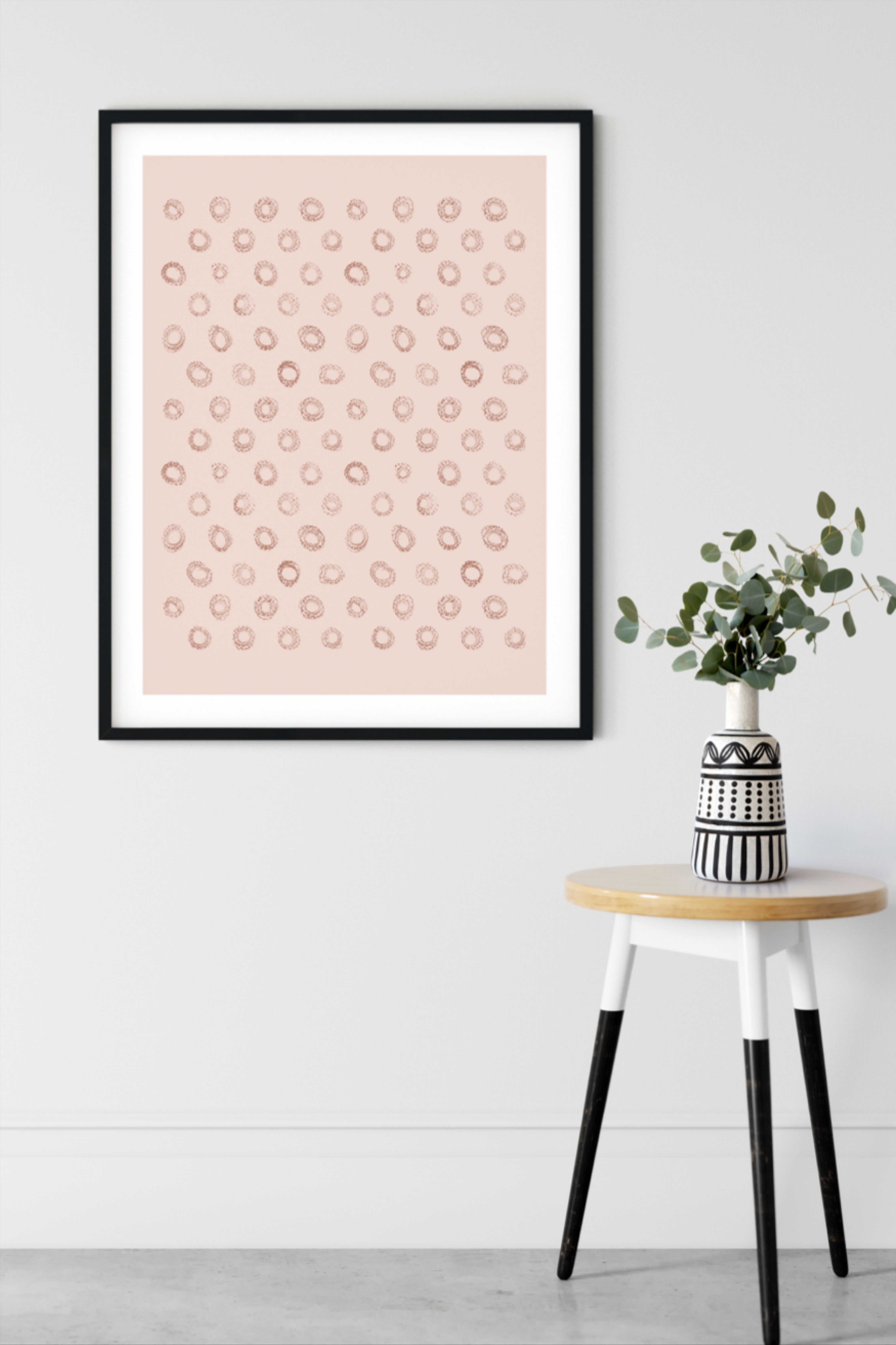 Boho Home Decor Beige Neutral Abstract Print Aesthetic Etsy In 2020 Circle Wall Art Printable Wall Art Neutral Wall Art