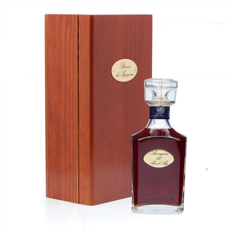 Baron De Sigognac 50 Year Old Armagnac Carafe Wine Bottle Buy Wine Wine And Spirits