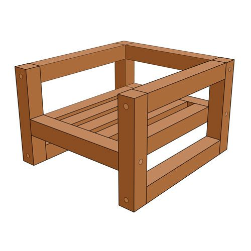 Modern Outdoor Chair (Free Plan) – DIY Creators