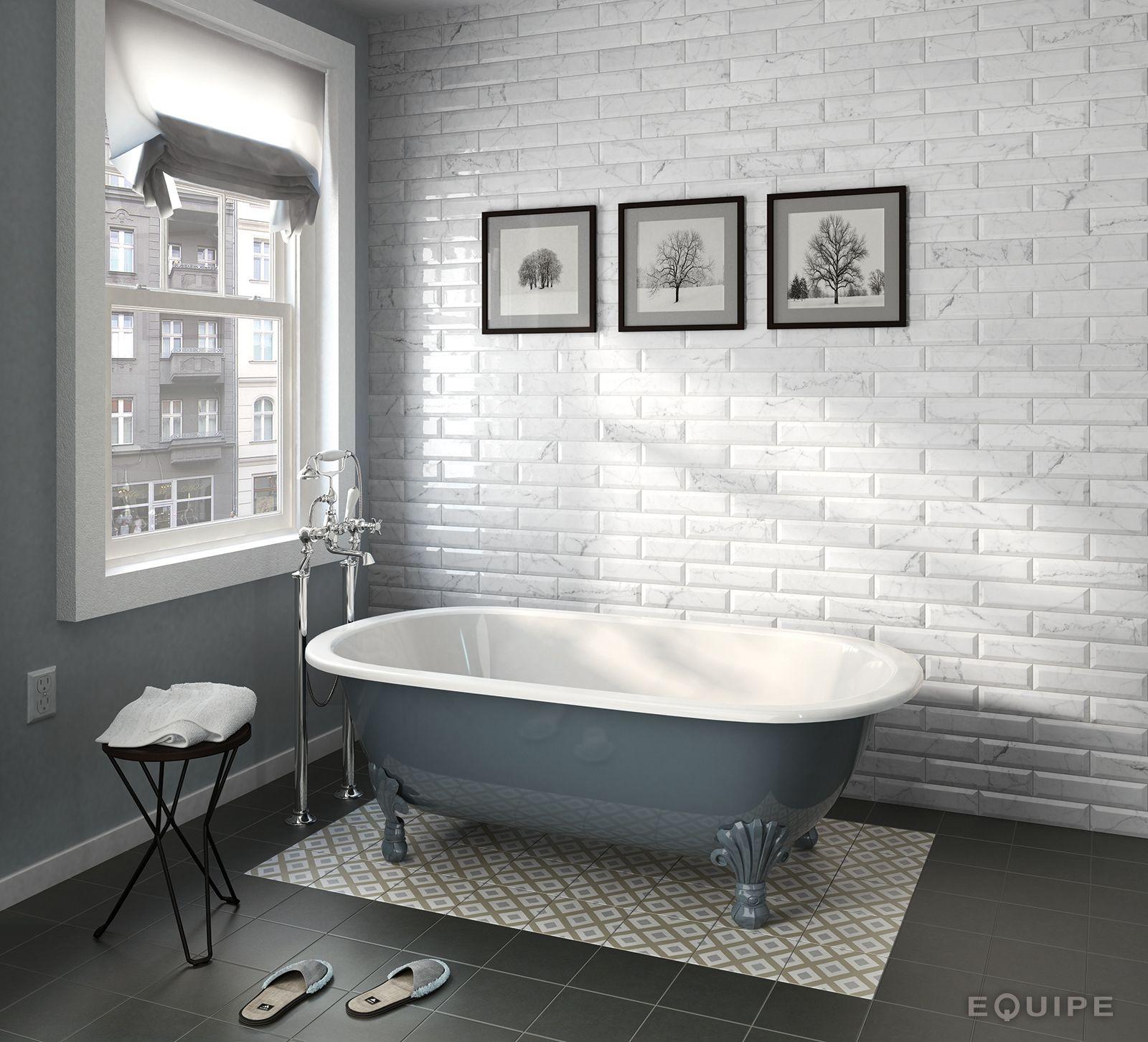 Pin by lyh yra on sweet pinterest black decor carrara carrara series marble effect bevel edge gloss ceramic wall tiles dailygadgetfo Images