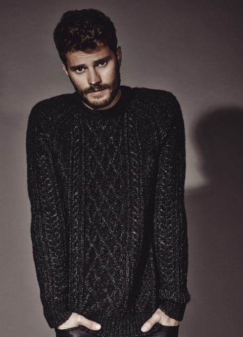 I want the sweater- just the sweater. It looks so warm.  ^^someone pinned this... They'll want more than just the sweater after 50 Shades of Grey!!!