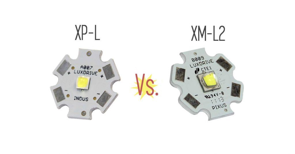 Cree Xp L Vs Xm L2 What S The Difference Ledsuppy Blog Cree Different Blog