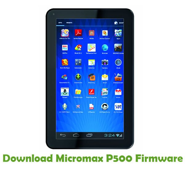 Micromax P500 Firmware | Download Micromax Stock ROM | Android