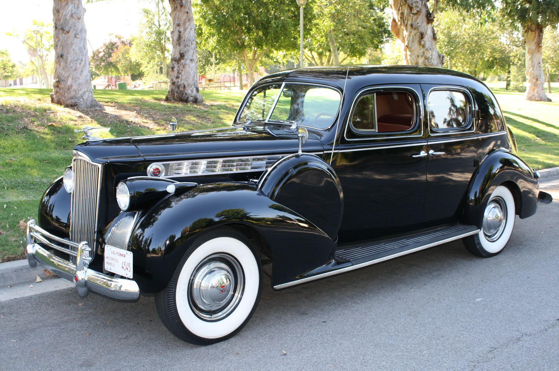 Here is an extremely rare car it's a 1940 Packard 180