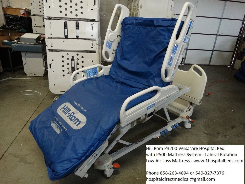 Hill Rom Versacare Bed with P500 Air Mattress NEW